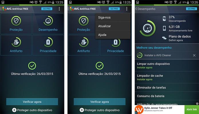 ed586a9886b Avast ou AVG? Veja qual é o antivírus mais completo para Android ...