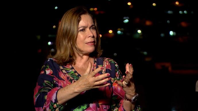 Historiadora Mary Del Priore fala sobre o cotidiano do Brasil colonial (Foto: TV Bahia)