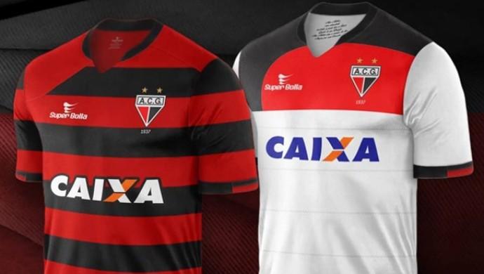 Novos uniformes - Atlético-GO (Foto: Divulgação / Atlético-GO)