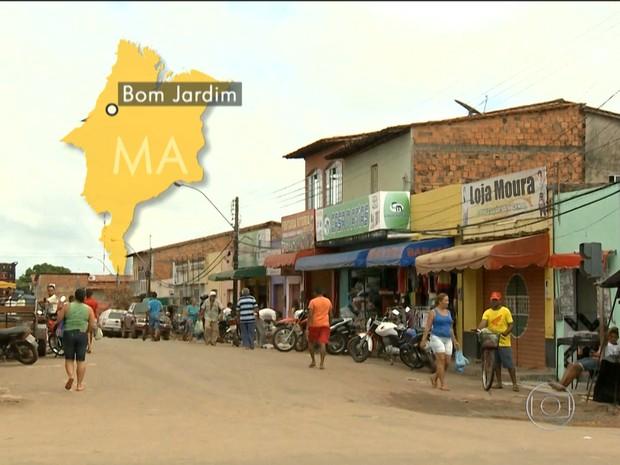 Cidade de Bom Jardim (MA) (Foto: Reprodução / TV Mirante)