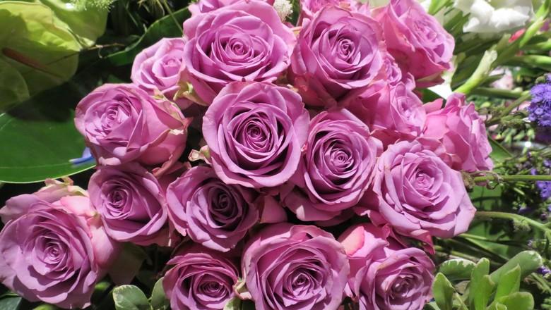 flores-rosas-decoração-expoflora (Foto: Teresa Raquel Bastos/Ed. Globo)