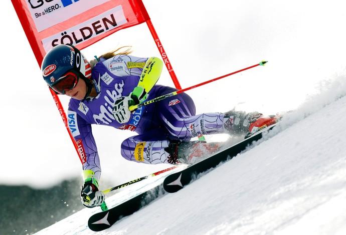 Mikaela Shiffrin esqui  (Foto: Getty Images)