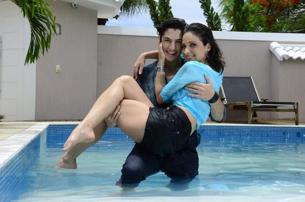 Sabrina Korgut e Gabriel Leone (Foto: Roberto Teixeira/ EGO)