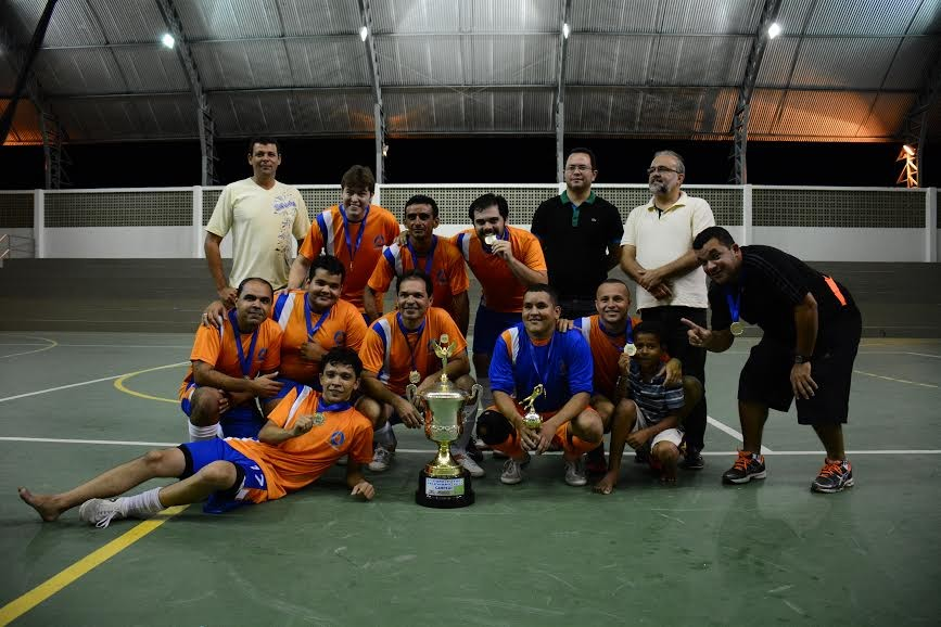 Time da TV Cabo Branco venceu 1ª Copa de Futsal de Televisão (Foto: Felipe César/TV Cabo Branco)