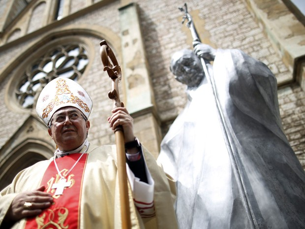 Cardeal da Bósnia, Vinko Puljic, destacou a importância de João Paulo II durante os conflitos dos anos 90 (Foto: Dado Ruvic/Reuters)