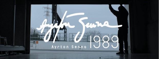 Honda faz homenagem a Ayrton Senna (Foto: Reprodução)