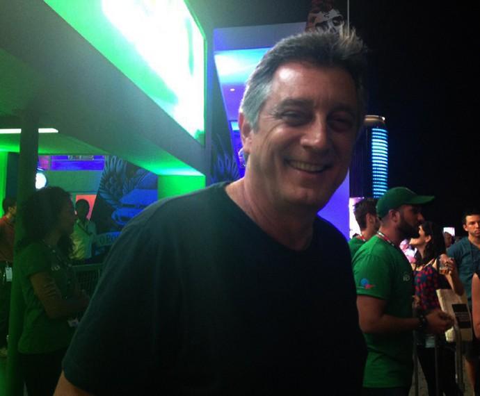 Eduardo Galvão curte o terceiro dia de Rock in Rio (Foto: Carolina Morgado/Gshow)