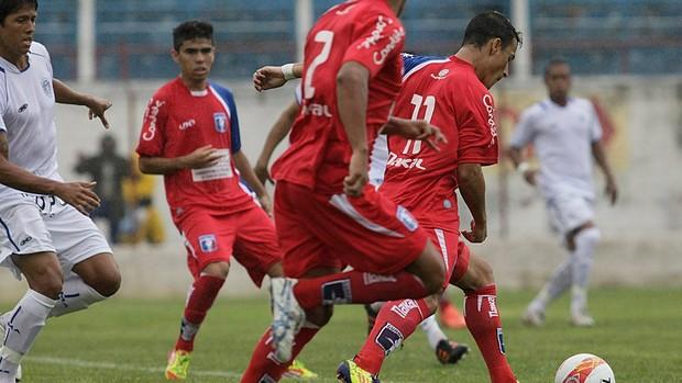 Guaratinguetá não conseguiu marcar na estreia em casa (Foto: Comunicação Guaratinguetá Futebol/ Divulgação)