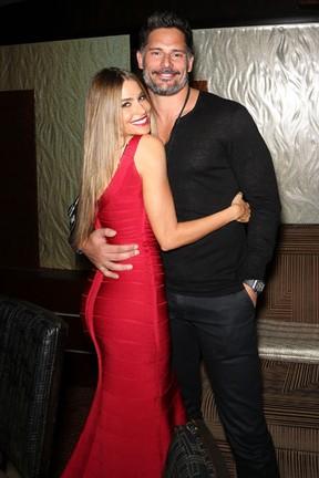 Sofia Vergara e Joe Manganiello em festa em Las Vegas, nos Estados Unidos (Foto: Gabe Ginsberg/ Getty Images)