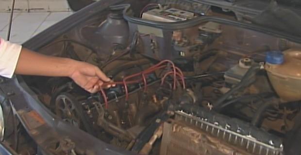 O programa ensinou como aumentar a vida útil do seu carro. (Foto: Bom Dia Amazônia)