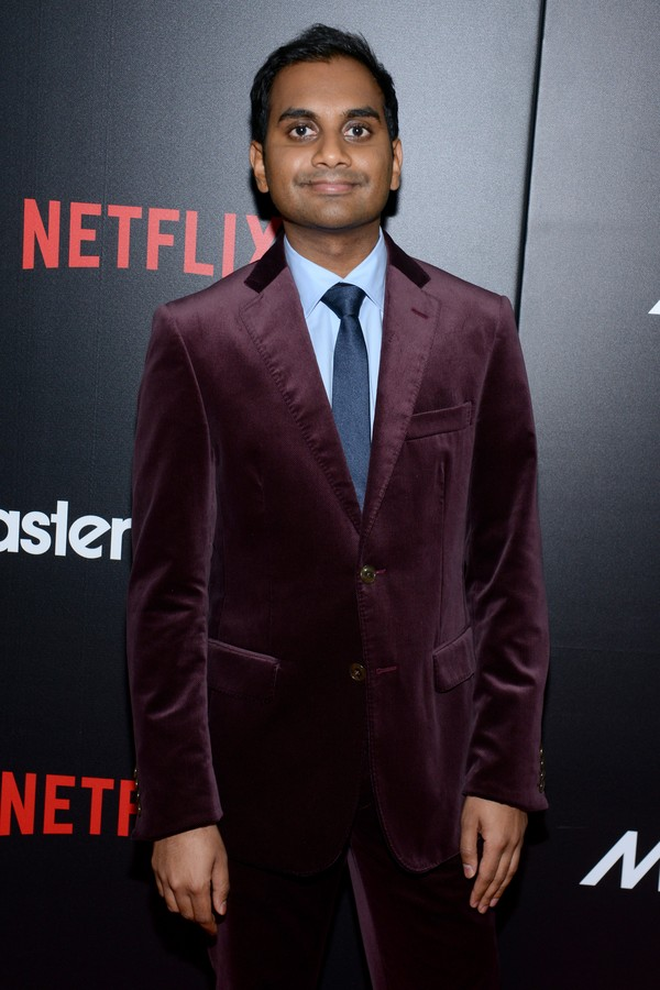 O ator Azis Ansari (Foto: Getty Images)