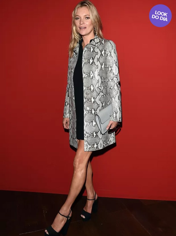 Kate Moss - Look do Dia (Foto: Agência Getty Images)
