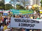 Atos antigoverno Dilma movimentam cidades da região de Ribeirão Preto