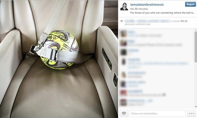 Ibrahimovic Bola do Jogo
