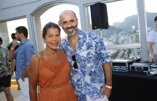 Daniela Falcão e Claudio Gomes (Foto: Gianne Carvalho)