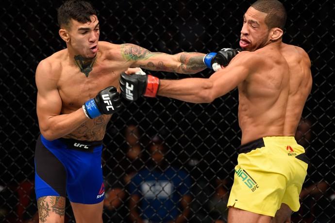 Andre Fili x Hacran Dias UFC Portland (Foto: Getty Images)