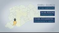 Embu-Guaçu é a segunda parada da viagem que o BDSP faz pelas cidades da Grande São Paulo