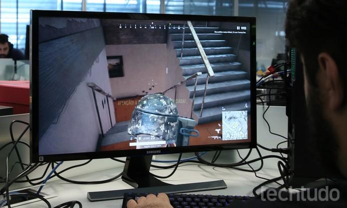 monitor  (Foto: Yuri Hildebrand/TechTudo)