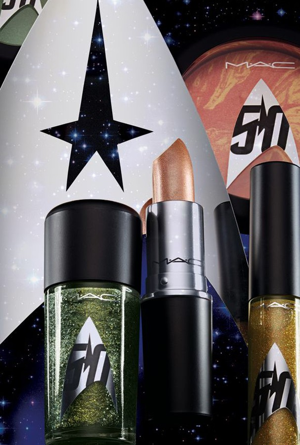 """M.A.C lança coleção inspirada em """"Star Trek"""""""