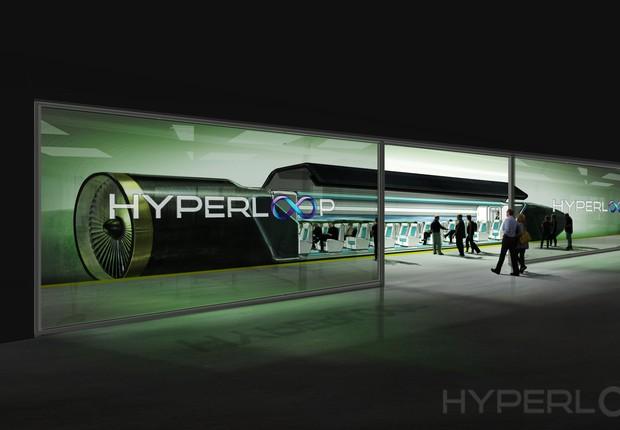 Hyperloop (Foto: Divulgação)