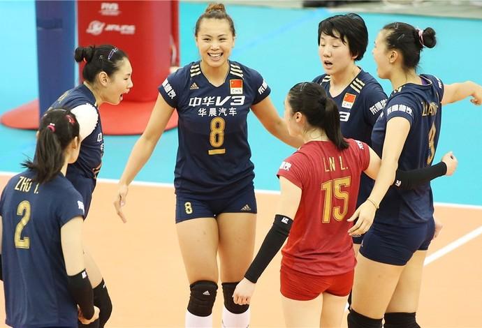 China Vôlei Copa do Mundo (Foto: Divulgação / FIVB)