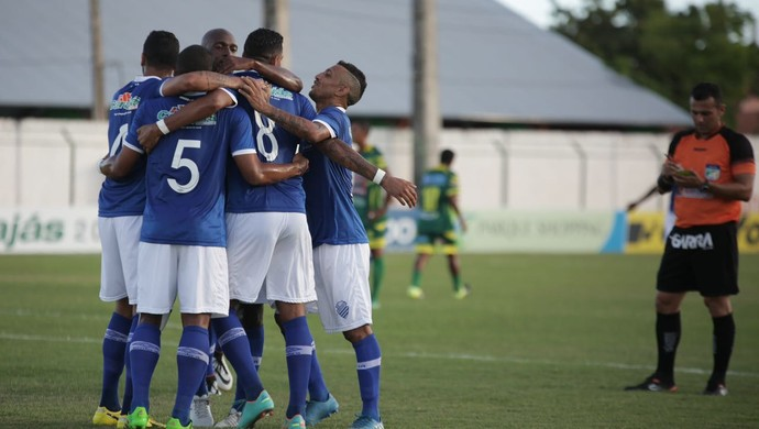 CSA x Sete de Setembro gol de Everton Heleno (Foto: Alisson Frazão/AcomCSA)