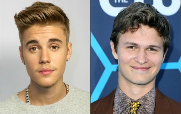 Justin Bieber e o ator Ansel Elgort (de 'A Culpa é das Estrelas') nasceram ambos em março de 1994. (Foto: Getty Images)