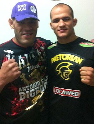Cigano e Pezão, UFC (Foto: Reprodução / Twitter)