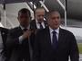 Michel Temer chega ao aeroporto de Chapecó para homenagear vítimas