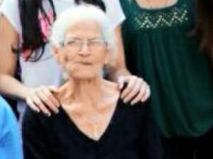 A idosa Izaura Paes, que foi baleada em Campinas e faleceu (Foto: Reprodução EPTV)