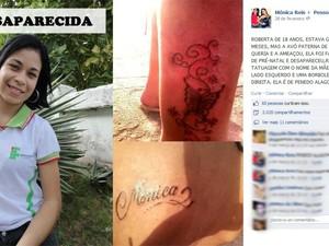 Roberta Dias desapareceu em abril de 2012 (Foto: Reprodução/Facebook)