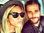 Bruno Gagliasso curte Giovanna Ewbank de batom: 'Gosto da minha mulher linda'