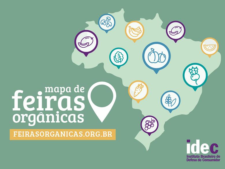 idec-mapa-de-feiras-organicas (Foto: Idec)