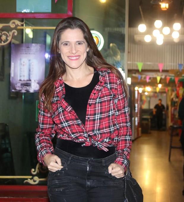 Ingrid Guimarães (Foto: Daniel Pinheiro/AgNews)