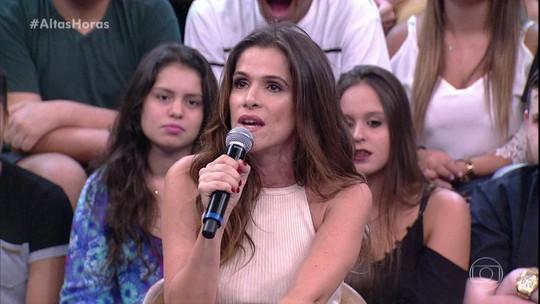 Ingrid Guimarães brinca sobre papel: 'Casada com o Chay Suede, tá gente?'