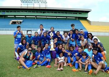 Atlético-AC x Galvez, Seletiva Acreana de Futebol Feminino (Foto: Nathacha Albuquerque)