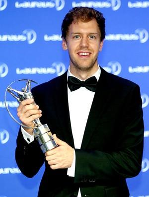 Vettel prêmio Laureus 2014 (Foto: Getty Images)