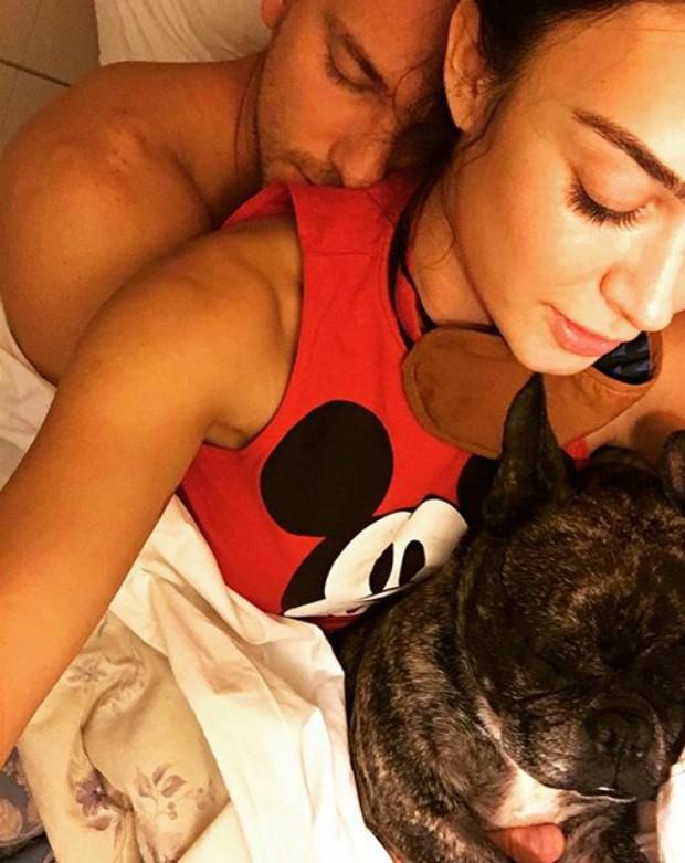 Adam Senn e Thaila Ayala (Foto: Reprodução / Instagram)