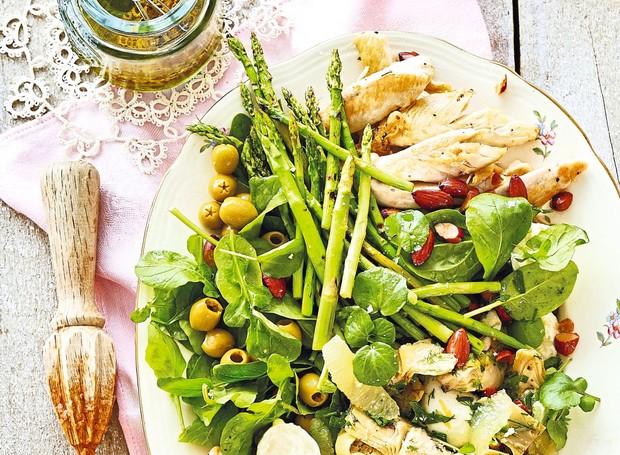 Salada de alcachofra e limão-siciliano (Foto: StockFood /Great Stock!)