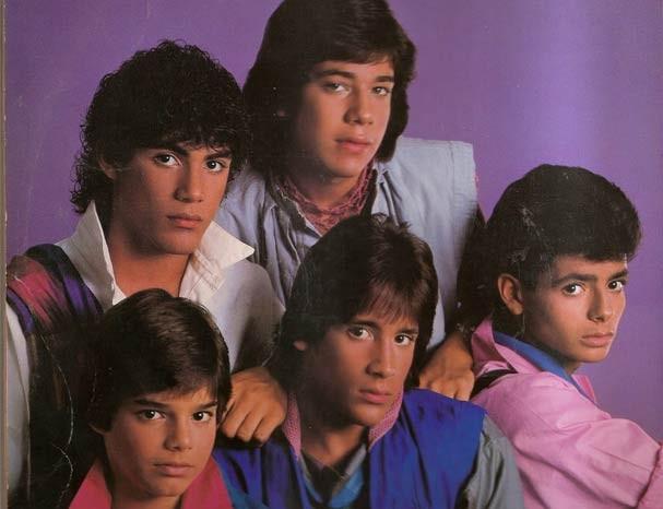 Capa de um dico da banda, já na formação que incluía Ricky Martin, o menorzinho (Foto: Reprodução)
