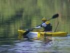 Ecoesportista analisa situação da água do rio Jundiaí