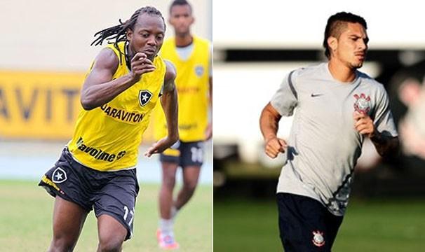 Jogadores se enfrentarão neste domingo (Foto: Ivo Gonzalez / Agencia O Globo / Marcos Ribolli / Globoesporte.com)