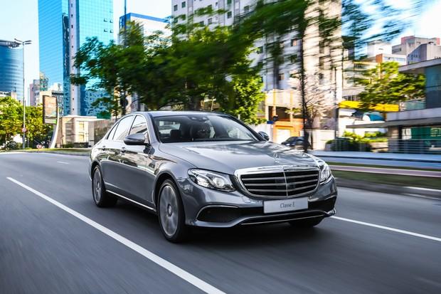 Mercedes-Benz Classe E dianteira (Foto:  Divulgação)