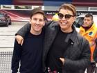 David Brazil tira onda na web com foto ao lado do craque Lionel Messi