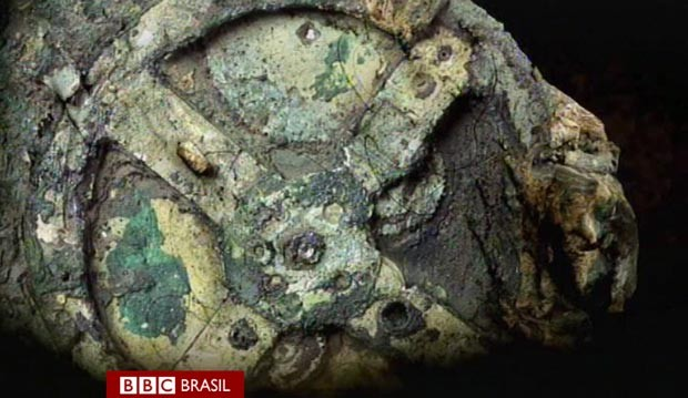 Cientistas desvendam segredos de 'computador' de 2 mil anos (Foto: BBC)
