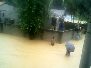 São sebastião chuva (Foto: Pollyana Mara J. Vila Nova)