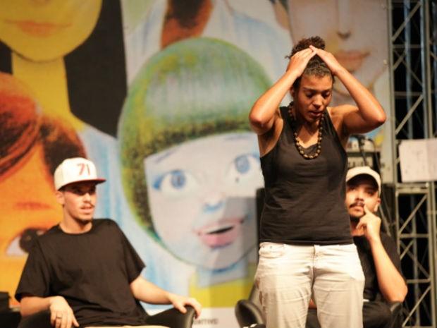 Poetas de Poços de Caldas participaram do primeiro Slam Flipoços (Foto: Bruno Alves/Flipoços)