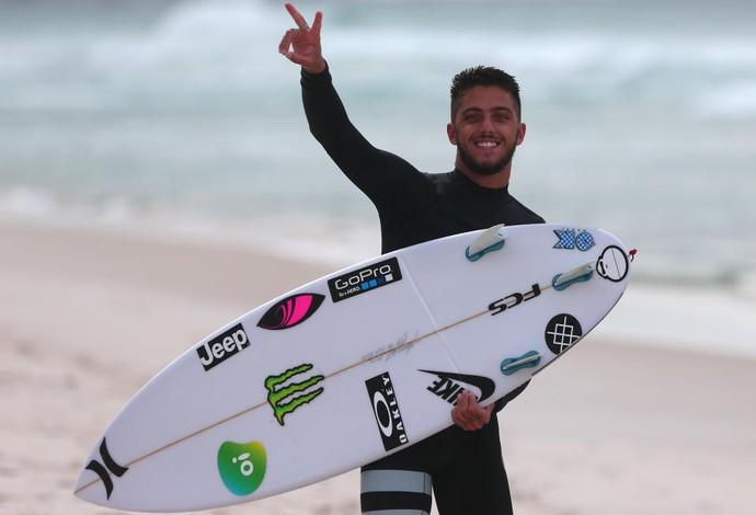 Filipe Toledo enfrentou saga para se recuperar de lesão sofrida na Gold Coast (Foto: DANIEL SMORIGO/WSL   )
