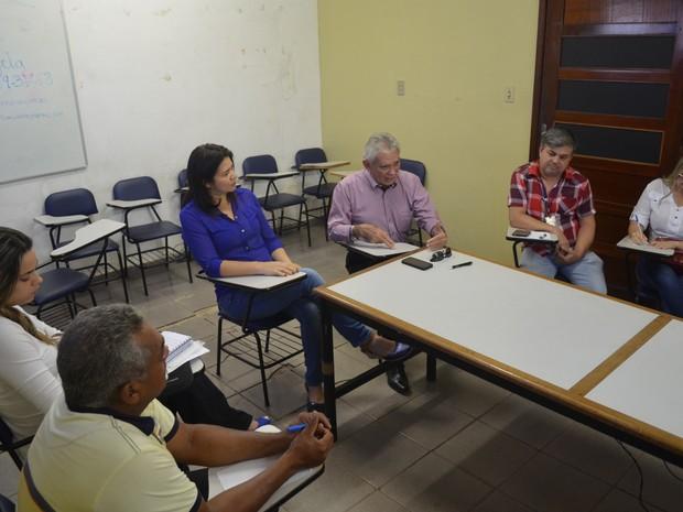 Em reunião realizada na 9ª regional, Sespa descartou qualquer situação alarmante por conta da febre amarela (Foto: Weldon Luciano/G1)