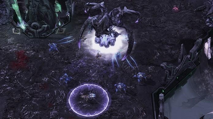 Em Starcraft 2: Legacy of The Void, o antagonista Amon ataca com habilidades e unidades muito poderosas (Foto: Divulgação/Blizzard)